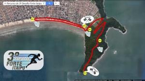 itinerario da corrida